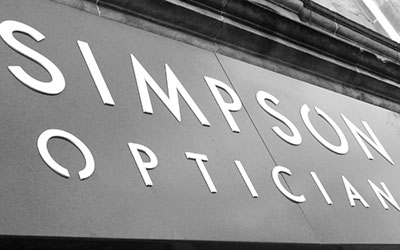 Contact Simpson Opticians